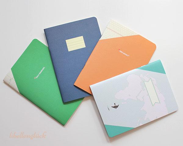 Compat paperways vier Hefte im Fächer