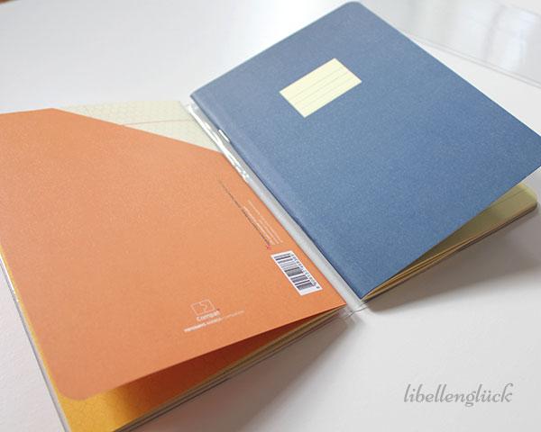Compat paperways zwei Hefte und Hülle