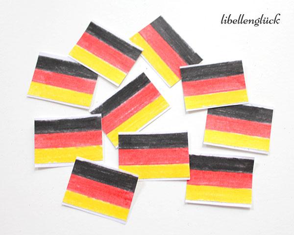 Fertige Deutschlandsticker