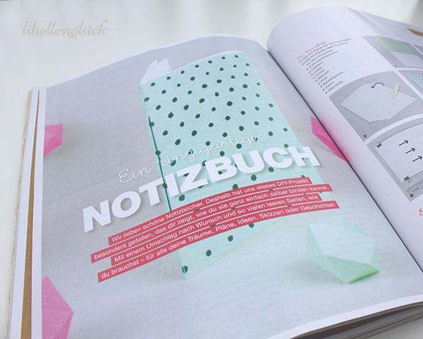 Flow Anleitung Notizbuch