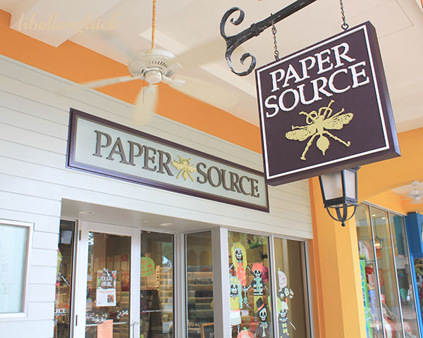 ladenschild paper source west palm beach