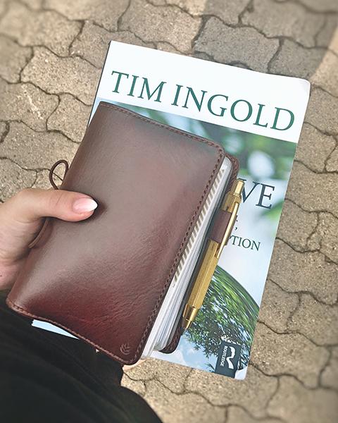 Travelers Notebook von Magdalena @mansorahatelier